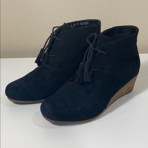 Dr. Scholl's Dakota Wedge Booties Women's 7.5